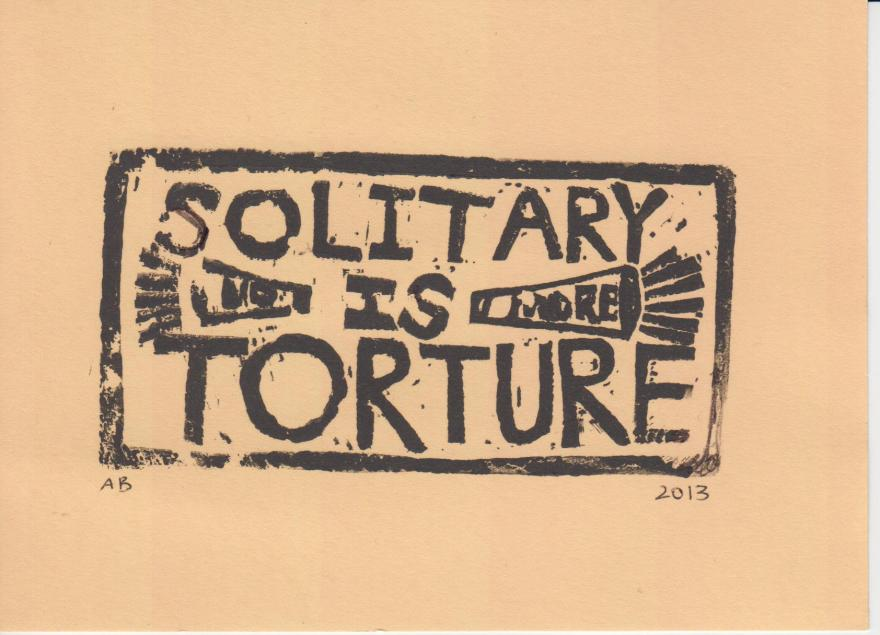 Solitary is Torture Orange Annie Banks 2013